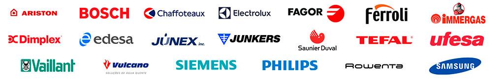 marcas de caldeiras, caldeiras multi-marcas
